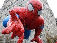 macys parade spiderman