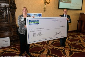 NCC Chamber Cancer Society Check